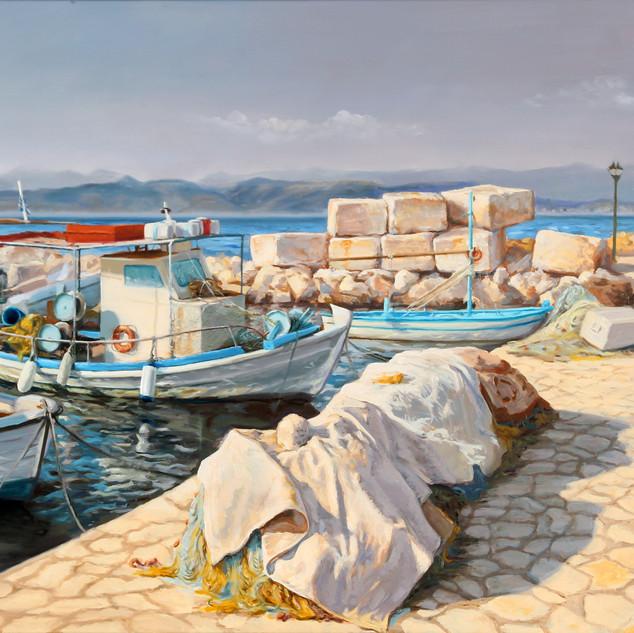 Lodě Korfu 65x120