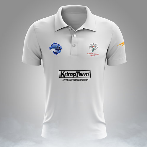 Comets White Collared shirt