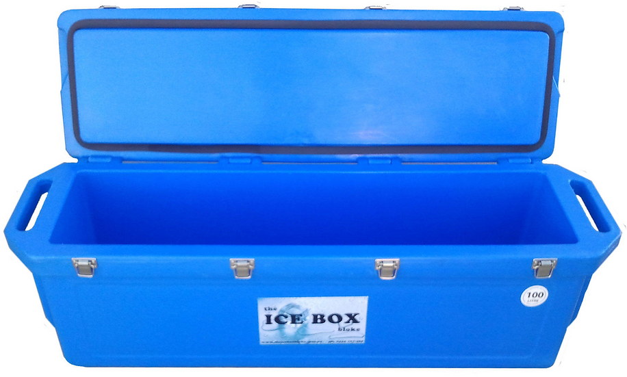 100 Litre Mackerel Ice Box (blue)