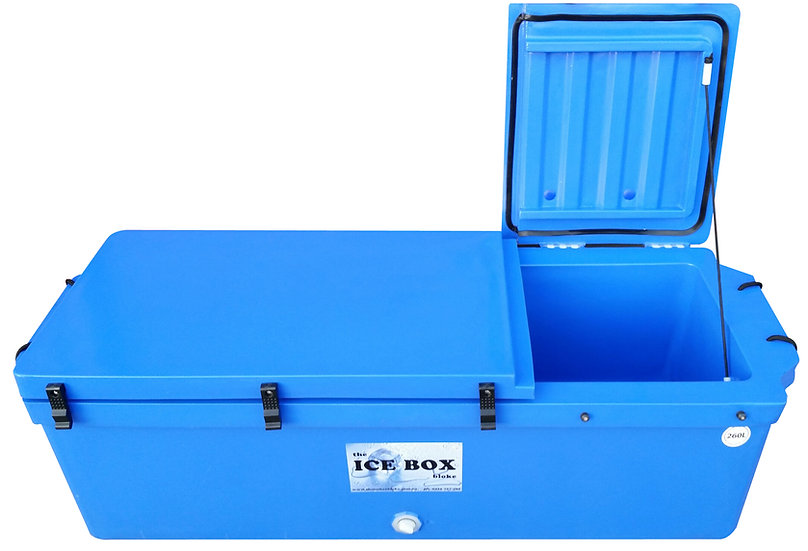 260 Litre Mackerel Ice Box (blue)
