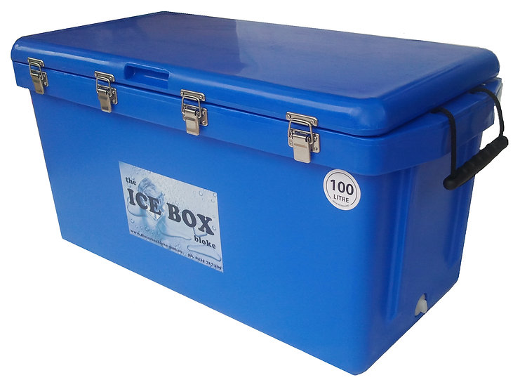 100 Litre Ice Box (blue)
