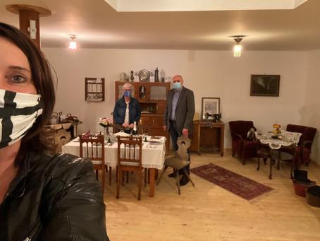 Abgeordnete Kathrin Anklam-Trapp (SPD) besucht Museum in Undenheim