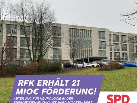 Bedeutende Förderung: Rheinhessen-Fachklinik Alzey erhält 21 Mio. Euro