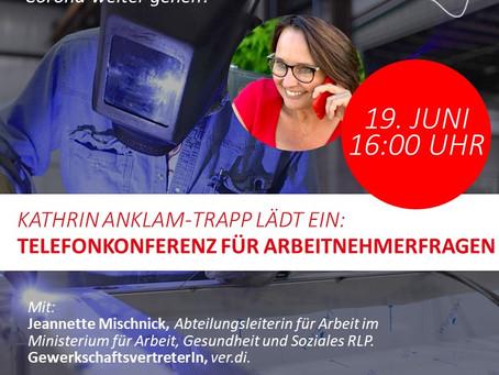 Herzliche Einladung für Arbeitnehmerinnen und Arbeitnehmer!