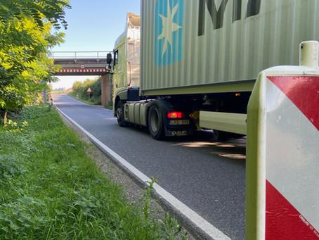 K 37 bei Monsheim: Anklam-Trapp moniert Zustand der Bankette als Gefahrenstelle