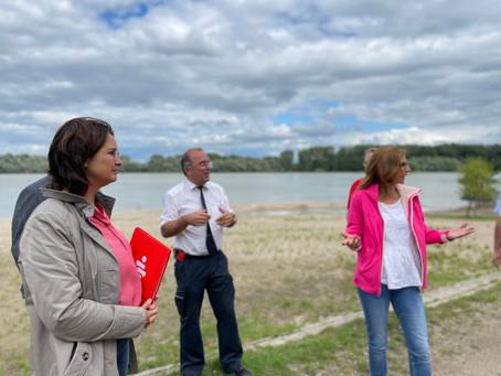 Fraktionsvorsitzende Sabine Bätzing-Lichtenthäler auf Begegnungen-Tour