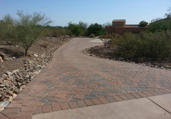 Paved Driveway