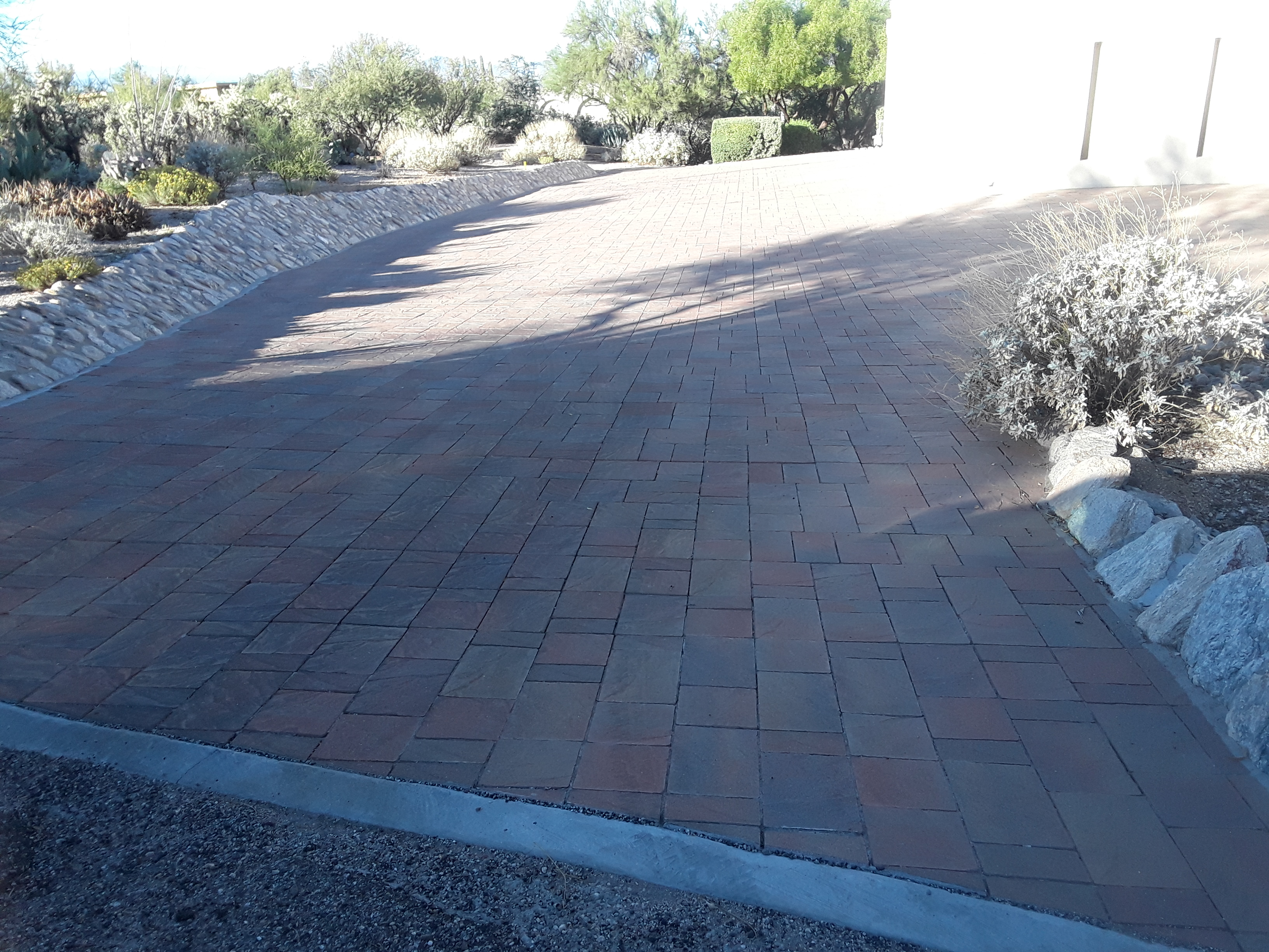 Special order custom Paved driveway