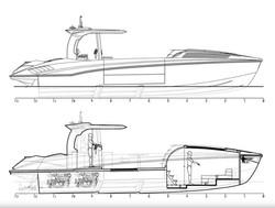 Cruiser 42 floor plan