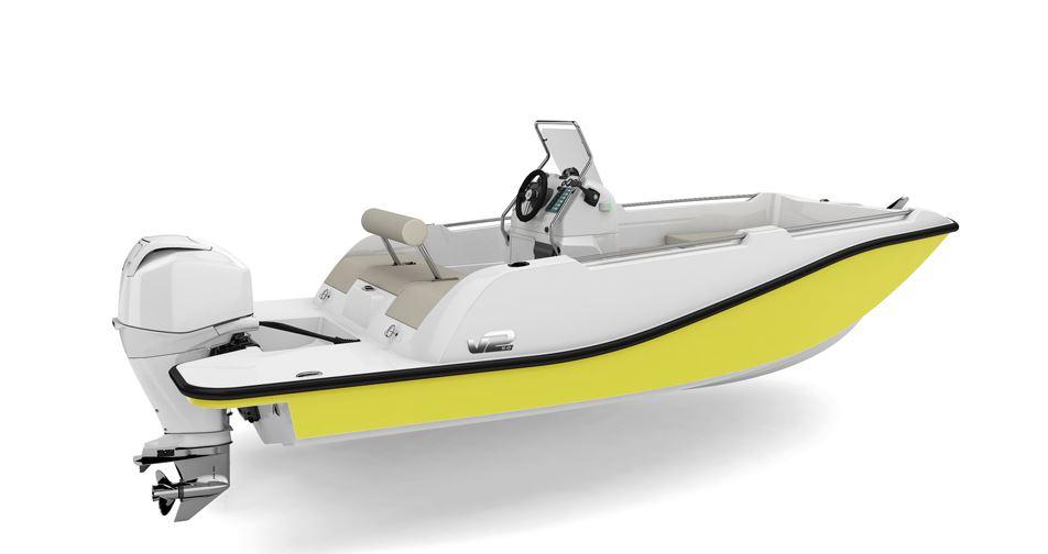 V2 5.0 yellow
