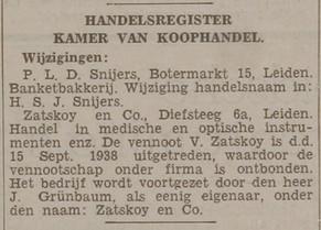 Leidsch Dagblad _ 1938 _ 8 oktober 1938