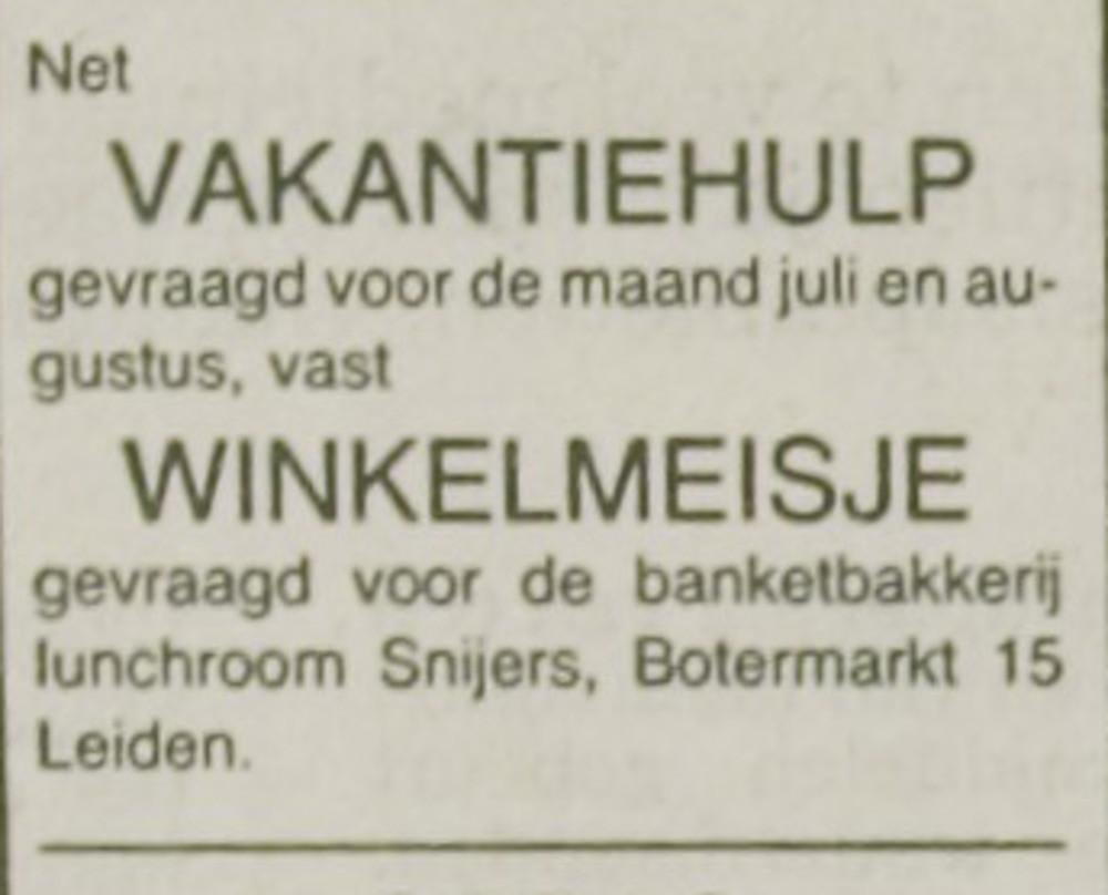 Leidsch Dagblad _ 1981 _ 1 juli 1981 _ p