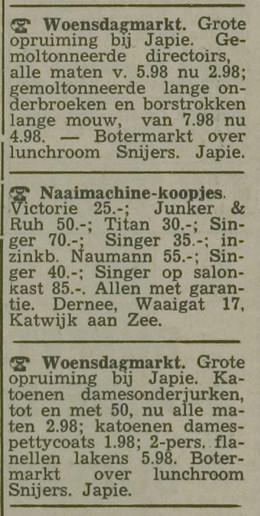 Leidse Courant _ 1963 _ 15 januari 1963