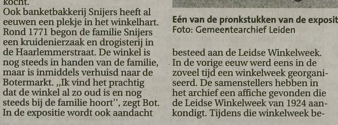 Leidsch Dagblad _ 2004 _ 22 april 2004 _