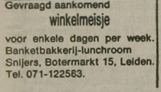 Leidse Courant _ 1981 _ 23 april 1981 _