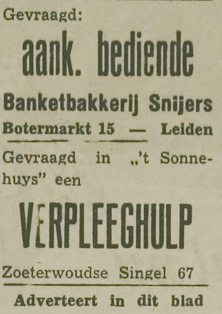 Leidse Courant _ 1957 _ 23 augustus 1957