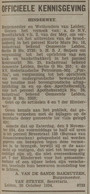 Leidsch Dagblad _ 1934 _ 20 oktober 1934