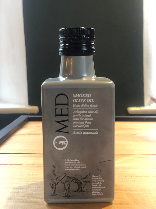OMED smoked Greek olive oil