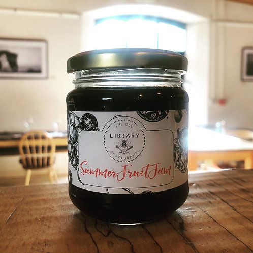 summer fruits jam