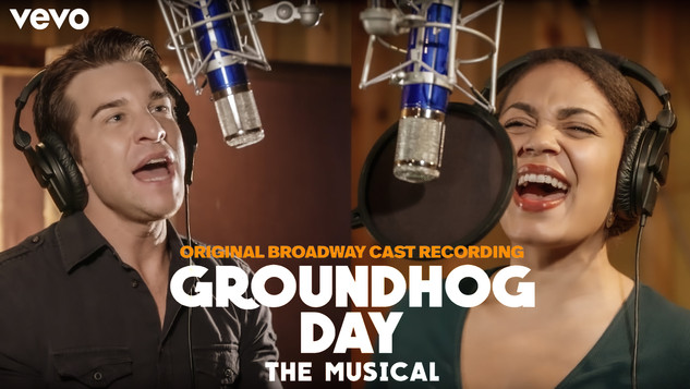 Making of Groundhog Day The Musical Cast Recording