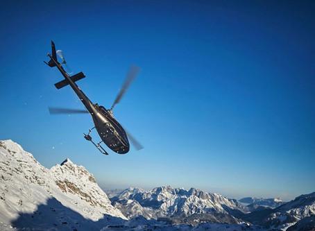 Hubschrauberrundflug - Südtirol von oben erkunden