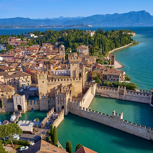 GARDA LAKE TOUR 1 FOR 5 PEOPLE