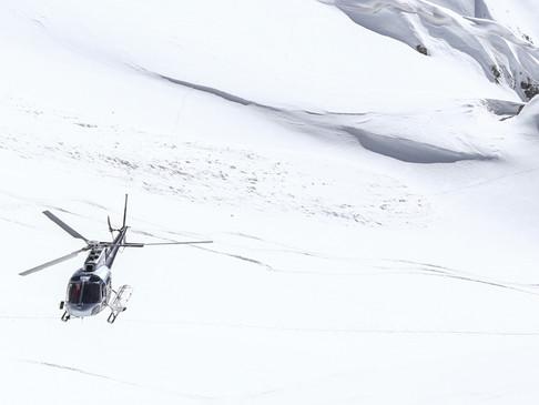 Nach Courchevel mit dem Hubschrauber von Heliunion - Skifahren Neu erleben