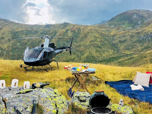 Besondere Erlebnisse in Südtirol - Südtirol von oben erkunden