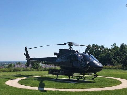 Mit dem VIP Hubschrauber von Heliunion nach Venedig