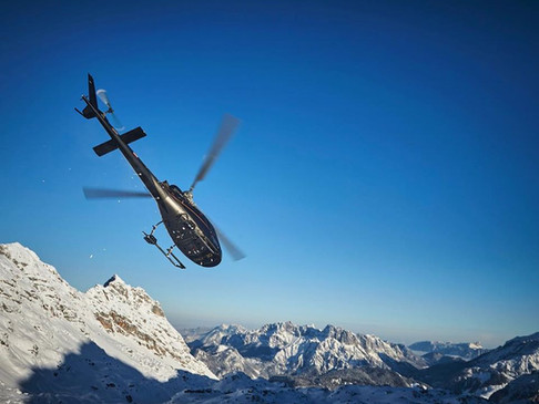 Helicopter  Cortina: Heli Transfers & Charters