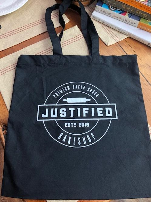 Justified Branded Tote Bag