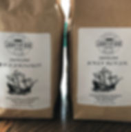 Mobjack Bay coffee roasters, special blend, medium, dark, roast, justified bakeshop