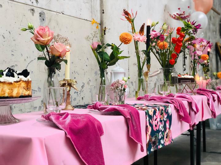 Styling roze.