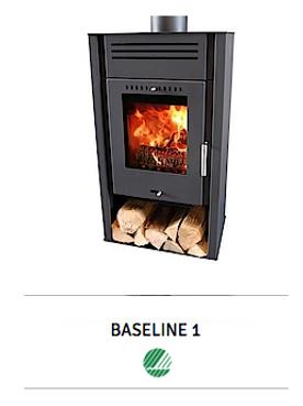 Baseline 1 Estufas de leña fáciles de usar y con combustión limpia