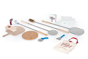 Kit para hacer pizza con todos los instrumentos necesarios, desde