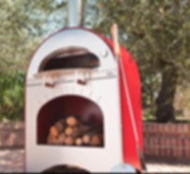horno pizza profesional exterior barbacoa