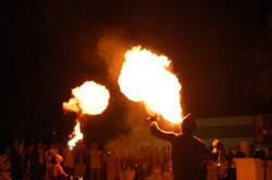 Spettacolo di fuoco