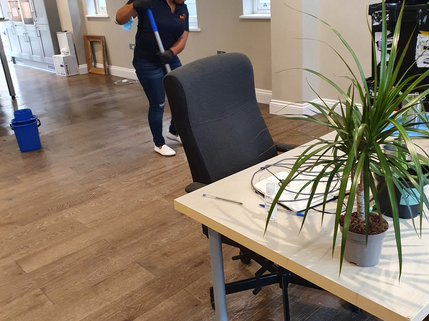 Commercial and residential cleaning