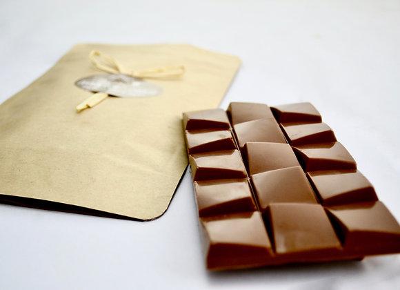Tablette mendiant chocolat au lait