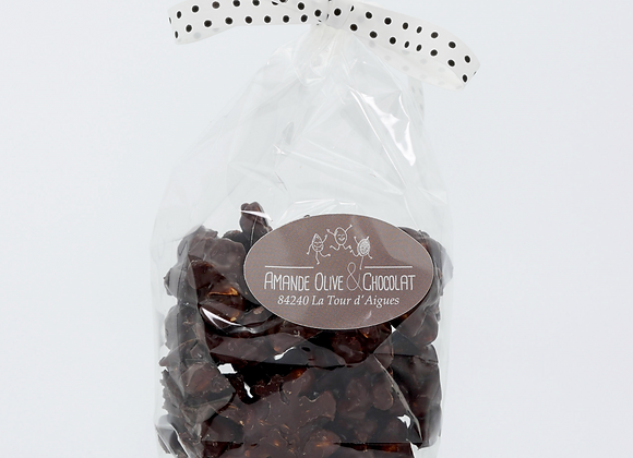 Rochers landais au chocolat noir