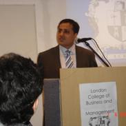 Seminar at LCBM - London, April 2007