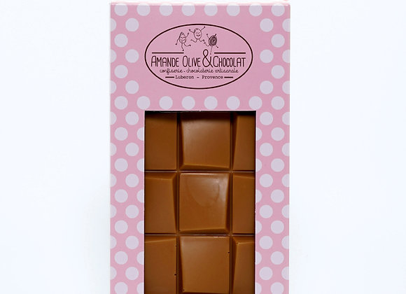 Tablette chocolat Dulcey