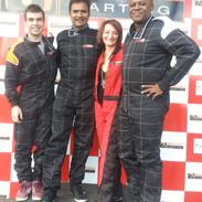 Go Karting at Lakeside Karting - Essex, July 2014