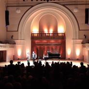 Piano and Violin Recital at Cadogan Hall - London, May 2019