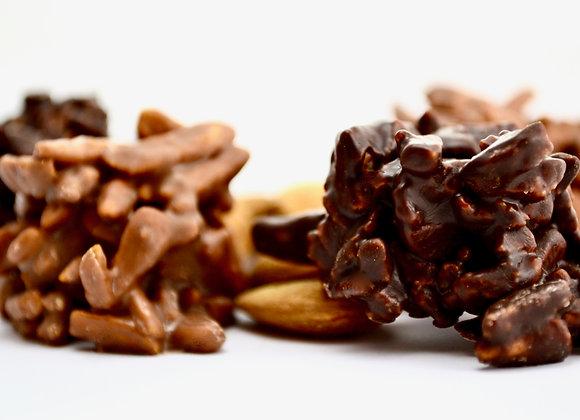 Rochers de la Tour chocolat noir / chocolat au lait