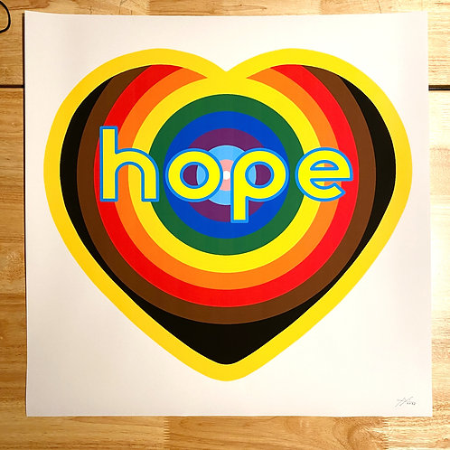 #Pride2020Hope  deluxe street print