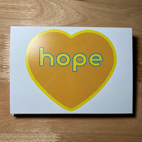 #PinkLemonadeHope 5x7 notecard 10-pack