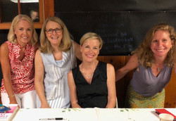 With Cecile Richards