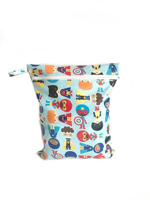 Gertrude Super Heros Wet Bag