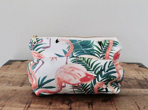 Flamingo Dolly Make-Up Bag
